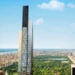 53W53 Features Black and Gold Metallic Façade by Jean Nouvel