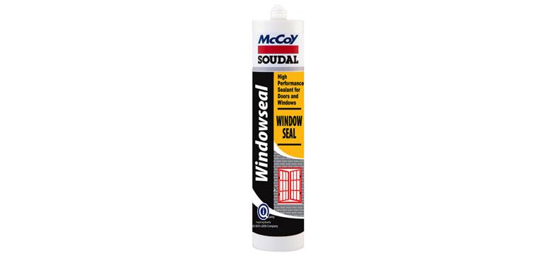 McCoy Soudal Window Seal - Brown (270ml)