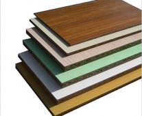 What type of wood is melamine?