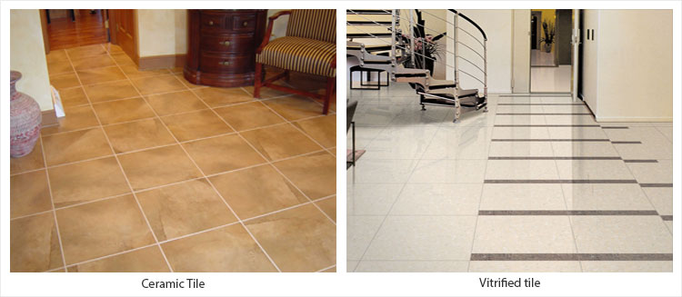 Ceramic Tile vs. Vitrified tile?