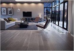 Vista Grey Oak Plank Flooring from Junckers Industrier