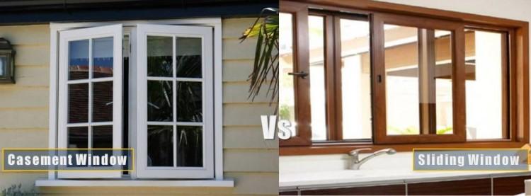 casement window vs sliding windows