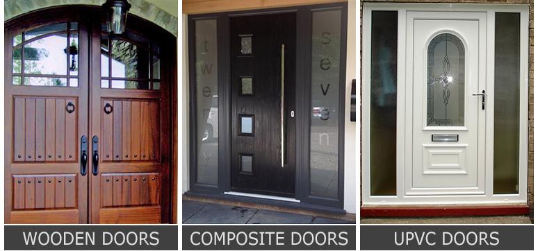 Wooden vs. Composite vs uPVC Door