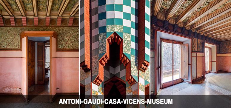 antoni gaudi casa vicens museum