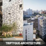 Residential Towers' designs by Triptyque Architecture