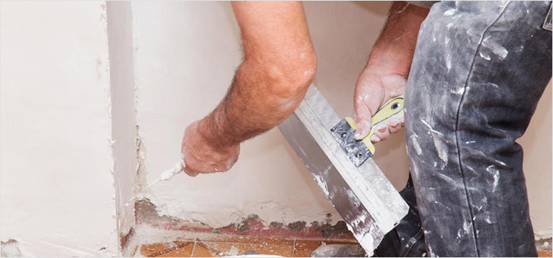 Drywall and building plaster