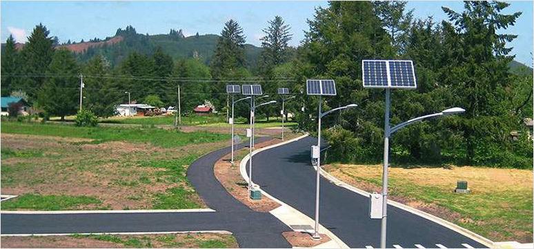 automated streetlights