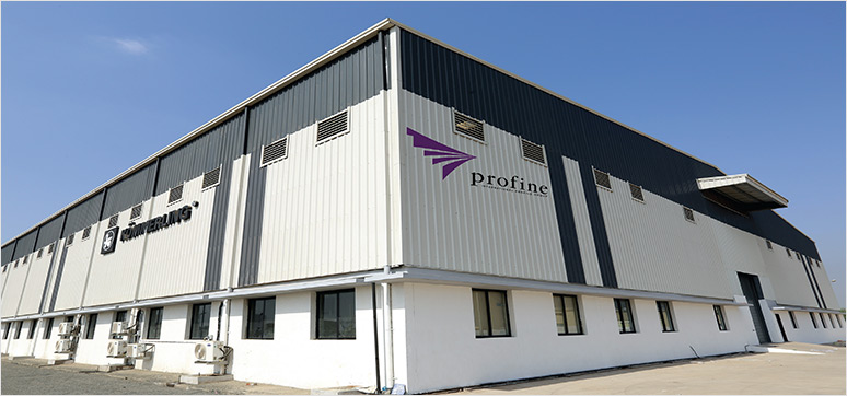 Koemmerling's current extrusion facility at Vadodara