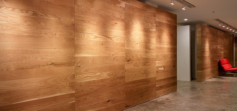 wood wall panelling