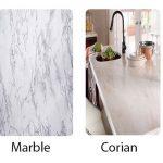 Quartz vs Granite vs Marble vs Corian vs Caesarstone for Countertops