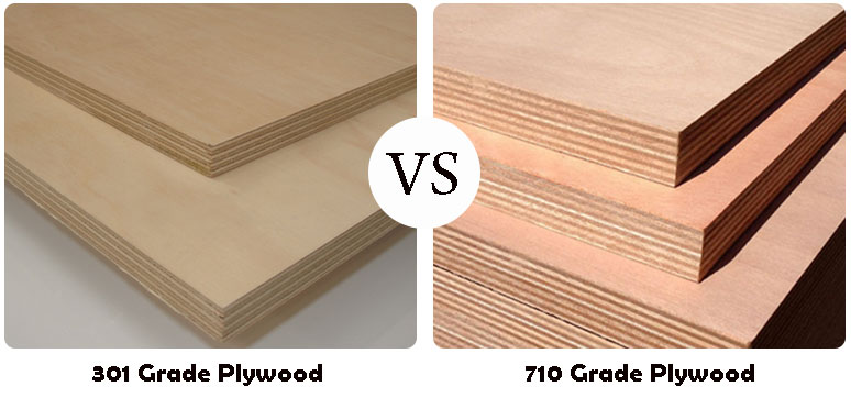 303 and 710 grade plywoods