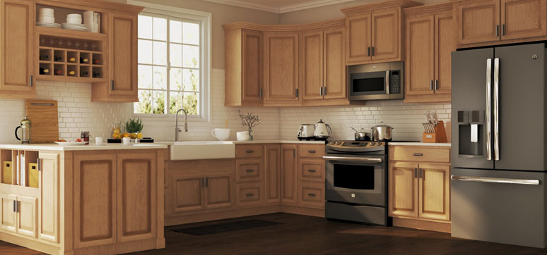 types of material for kitchen cabinets
