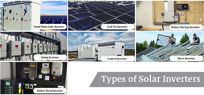 solar inverter types