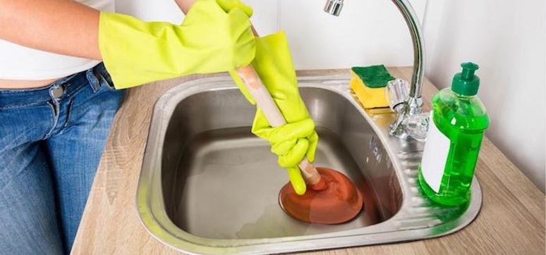 Clean Blocked Kitchen Sinks