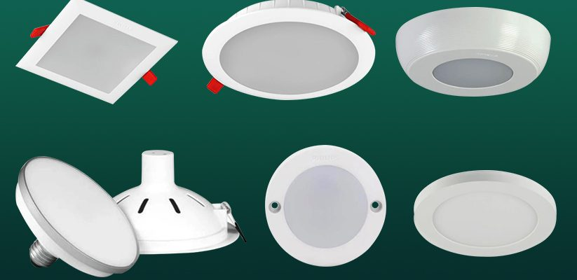 Types of LED Ceiling Lights