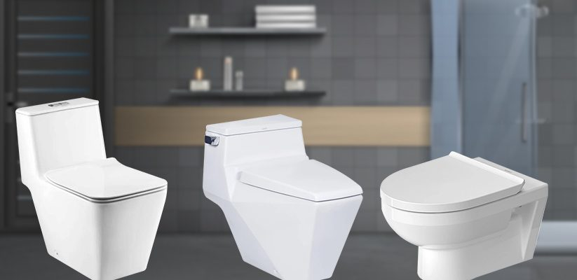Standard size of commode