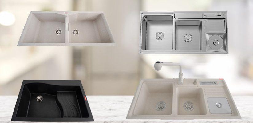 Standard kitchen sink size