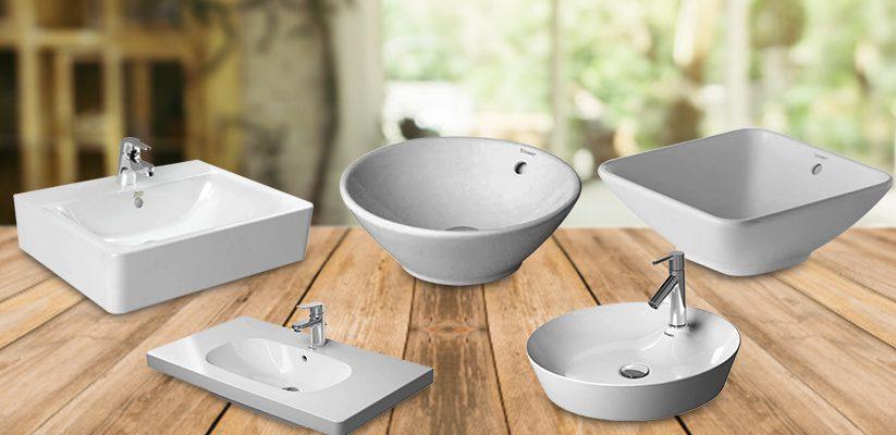 Wash basin standard size
