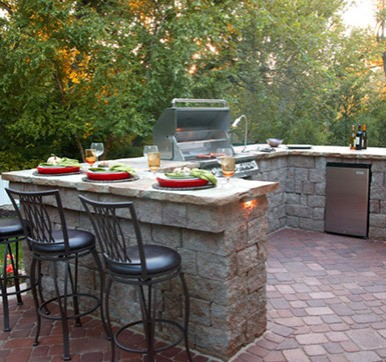 U Shape Outdoor Modular Kitchen