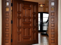 Wooden Doors by Chytanya Interiors