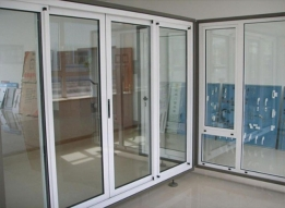 uPVC Sliding Doors by Foursquare Fab Works