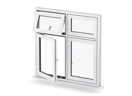 uPVC Combination Window by Sudhakar uPVC Window & Door