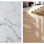 Vitrified tiles vs. Marble?