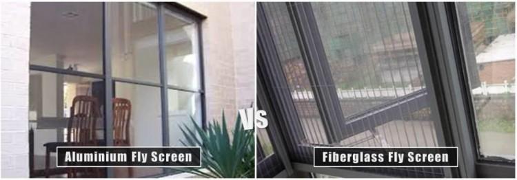 Aluminium Fly Screen Vs Fiberglass Fly Screen
