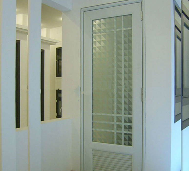 Arched Iron Doors