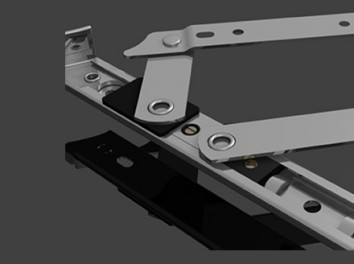 HD16 Egress Hinges by Cotswold Architectural