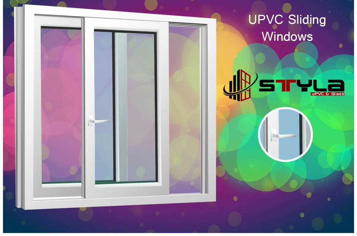 uPVC Sliding Window by Styla uPVC And Glass