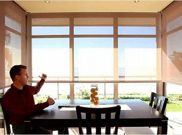 Motorized Window blinds by Elegant decor