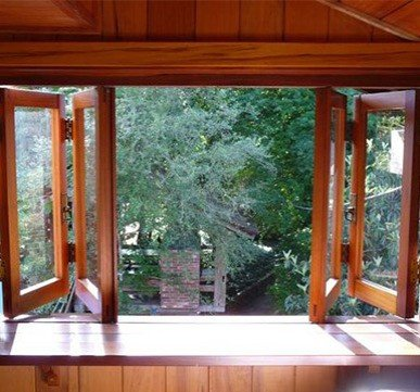 sliding wooden window design