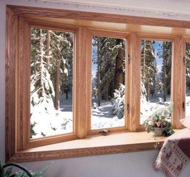 wooden window panel design