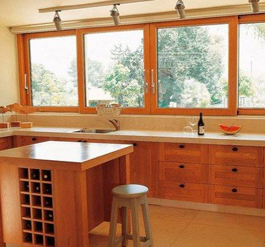 simple wooden window design