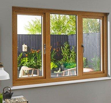 wooden window design with glass  wooden door and window design