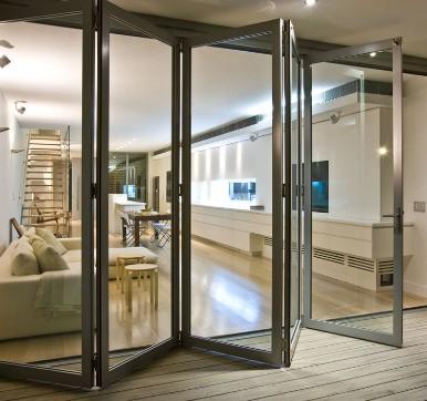 4 panel Aluminium Sliding doors