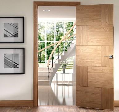 panel flush door
