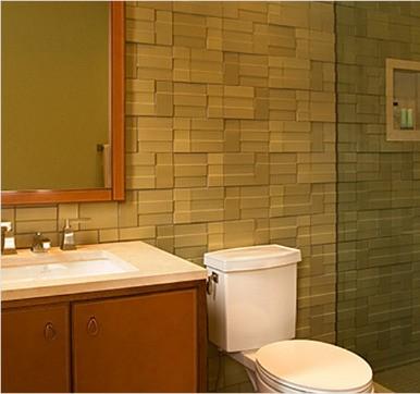 small latest tiles design for bathroom