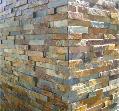 irregular shaped stone Cladding