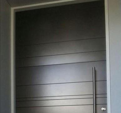 wood panel door for office