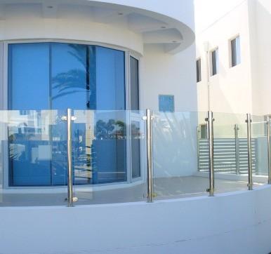 balustrades aluminium railing