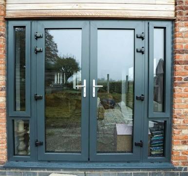 double Aluminium Doors