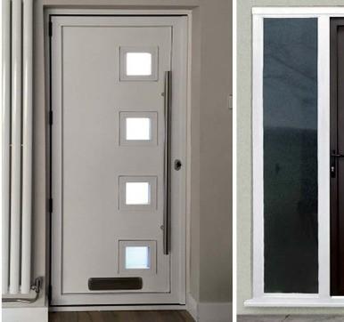 entrance doors aluminium