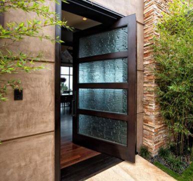 Garden facing doors