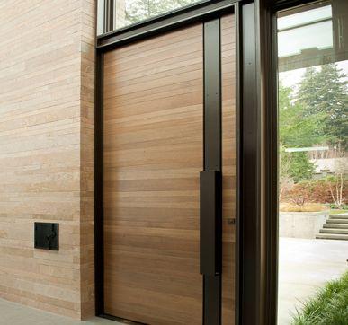 veneered wood door design