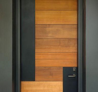 Warm wooden door designs for Indian homes