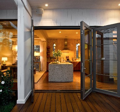 Aluminium Glass Door for Modular Kitchen