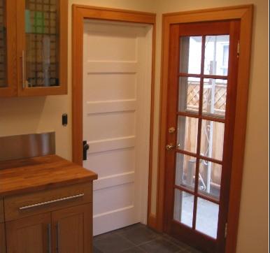 Modular Kitchen Glass Door