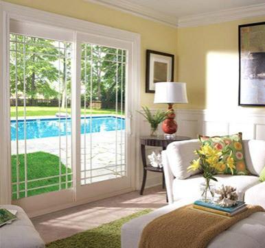 swimingpool sliding door design